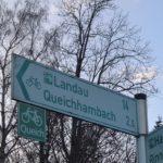 Über den Queichtalradweg von Annweiler nach Landau und zurück